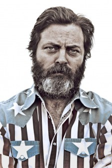 Photo of Nick Offerman.