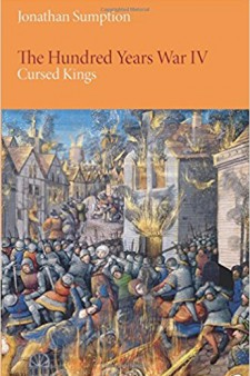 Book cover: The Hundred Years War IV: Cursed Kings.
