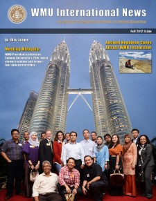 WMU International News fall 2012 cover