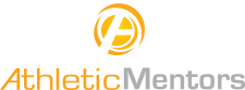 Athletic Mentors logo.