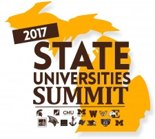 Logo for MI 2017 State Universities Summig