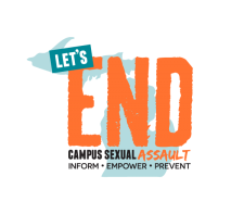 Lets End Campus Sexual Assault logo