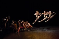 Dancers perform in a Senior Capstone Project