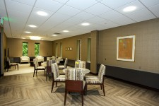 gathering/dining spaces in the executive meeting room at wmu-grand rapids, beltline.