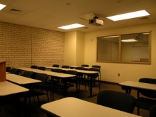 a wmu-grand rapids, downtown classroom.