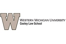 Western Michigan University Cooley Law School logo.