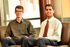 Photo of Joseph Barnett and Stephen John.