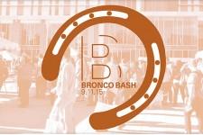 Bronco Bash logo.