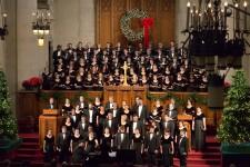Photo of a WMU choir.