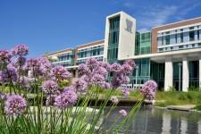 Photo of WMU's Sangren Hall.