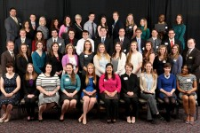 Photo of WMU's 2016 Presidential Scholars.