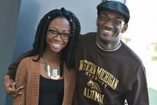 Photo of Tirrea Billings and Johnson Simon.