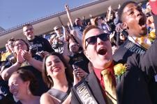 Photo of WMU homecoming football game.