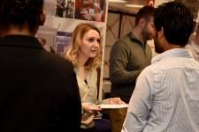 Photo of WMU Career Fair.
