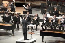 Photo of the WMU Concert Band.