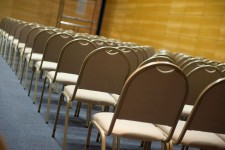Photo of a lecture hall.