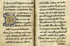 Page from De Corpore et Sanguine Domini manuscript.