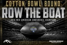 WMU Broncos, 2016 MAC football champions, are Cotton Bowl bound.