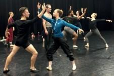 Photo of WMU dance students.