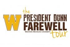 WMU President John M. Dunn's Farewell Tour.