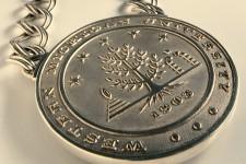 Photo of the WMU presidential medallion.