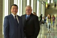 Photo of Drs. Dae Seok Chai and David B. Szabla.