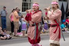 Photo from the Kalamazoo Do-Dah Parade.