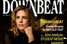Downbeat magazine cover, June 2017.