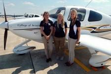 Photo of the 2017 WMU Air Race Classic team.