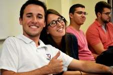 Photo of CELCIS students in class.