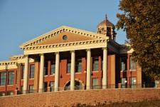 Photo of WMU's historic Heritage Hall.