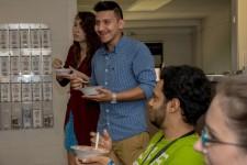 Photo of WMU's International Student Activities' ice cream social.