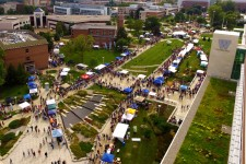 Photo of WMU Bronco Bash.