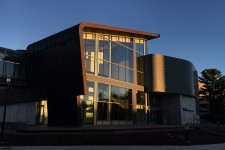Photo of the outside front of the Richmond Center for Visual Arts.