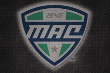 Mid-American Conference steel logo.