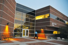 Photo of WMU's Fetzer Center.