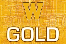 WMU poster art, says GOLD, and features the gold block W.
