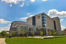 WMU Homer Stryker M.D. School of Medicine Building on the W.E. Upjohn M.D. Campus.