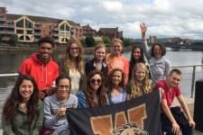 Incoming Freshmen study abroad in Ireland