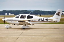 Photo of a WMU aircraft on the runway.