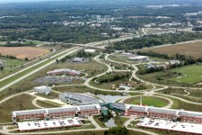 Aerial photo of WMU Business Technology and Research Park.
