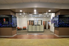 Photo of the entrace to the Robert S. Kaiser Sales, Negotiation and Leadership Lab.