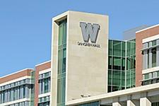 Photo of new Sangren Hall.