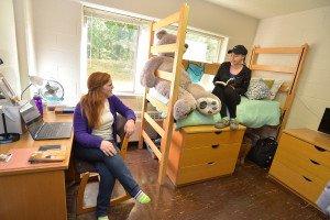 Students in bedroom