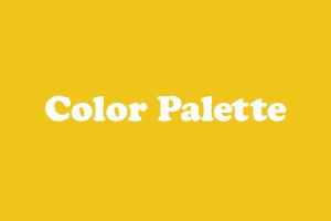 Color Palette icon art