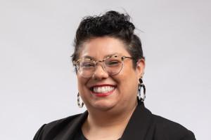 Headshot of Juliana Espinosa, user engagement librarian at Western Michigan University Libraries.