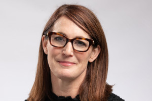Headshot of Kate Langan, humanities librarian at Western Michigan University Libraries.