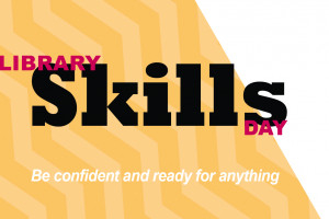 Graphic for Library Skills Day.