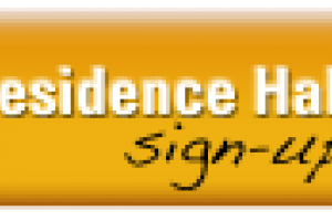 Residence hall sign-up