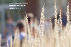 Program cover: Fall foliage on WMU's campus